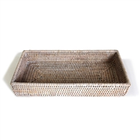 Rectangular  Bath Tray  -WW 12.5x6x2'H