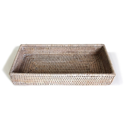 "Rectangular  Bath Tray  -WW 12.5x6x2""H.."