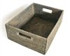"Rectangular Everything Basket  - GW 15.5x12x6""H.."