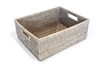 "Rectangular Everything Basket  - WW 15.5x12x6""H.."