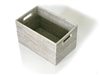 "Rectangular Open Storage Basket- WW 16x10x9.5""H.."