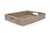"Rectangular  Tray - WW 15x12x2.75""H.."