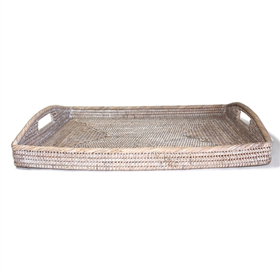 Large Rectangular Morning Tray  - WW 20.5x13.5x3.5'H