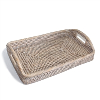 "Small Rectangular Morning Tray  - WW 12x8x2.25""H.."