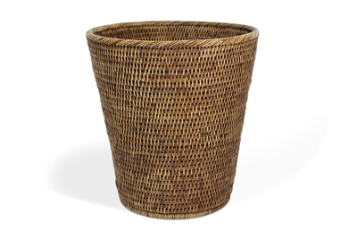 "Round Waste Basket Small  - AB 11x12""H.."