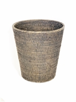"Round Waste Basket Small  - GW 11x12""H.."