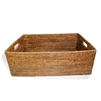 "Rectangular Family Basket - AB 23x17x8""H.."