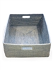 Rectangular Family Basket - Grey Wash 23x17x8'H