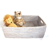 "Rectangular Family Basket  - WW  23x17x8""H.."