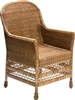 "Elegant Dinning Arm Chair - AB 23x25x40""H...."
