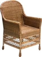 Elegant Dinning Arm Chair - AB 23x25x40'H