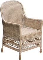 Elegant Dinning Arm Chair  - WW 23x25x40'H