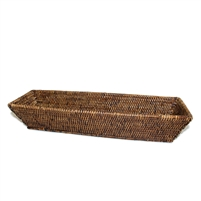 "Rectangular Bread Tray  - AB 17x5x3.5""H .."