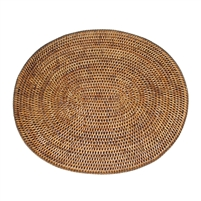 "Oval Placemat  - AB 17.25x15"".."
