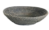 Bowl Oval WVR - Grey Wash 11x8x3' (Min. 2)