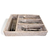 Utensil Compartment Tray- WW 14x11x2.5'