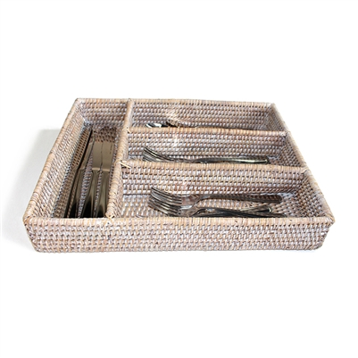 Utensil Compartment Tray- WW 14x11x2.5""
