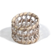 Round Open Weave Napkin Ring - WW 1.5""