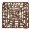Square Placemat  Open Weave - AB 14""