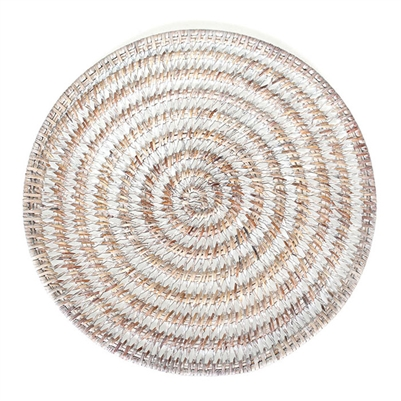 Round Placemat  Open Weave- WW 14'