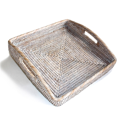 "Square Morning Tray - WW 12x12x2""H"