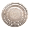 "Set  of 3 Round Trays - WW 18.5""/15.5""/11.5"" (2.5""H)"