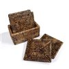 Square Coaster Box Set of 6 - AB..