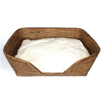 "Dog Bed with Cushion - AB  26x19x9"".."
