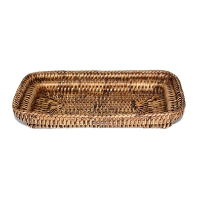 "Guest Towel Roll Tray - AB 8.5x4.75x1.5""H.."