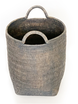 "Round Laundry Basket with Loop Handle -  GW 15x17""H.."