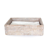 "Dinner Napkin Tray - WW 8.5x5.5x2.25""H.."