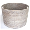 "Open Round Storage Basket  - WW 20x20x14"".."