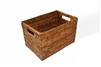"Rectangular Storage Basket - AB 12x8x8"".."