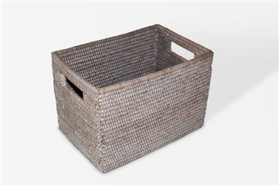 "Rectangular Storage Basket - WW 12x8x8"".."