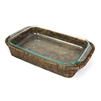 "3 qt. Pyrex Bakeware Tray Oblong Shape (Pyrex Included) - AB 17x11x2.5"".."
