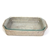 "3 qt. Pyrex Bakeware Tray Oblong Shape (Pyrex Included) - WW  17x11x2.5"".."