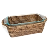 "Rectangular Bakeware Pyrex Loaf - AB 11.5x6x3"" Basket Size (Pyrex Included) ...."
