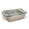 "Square 8"" inch Pyrex Bakeware Tray - WW 11x9.25x2.5"" (Pyrex Included).."