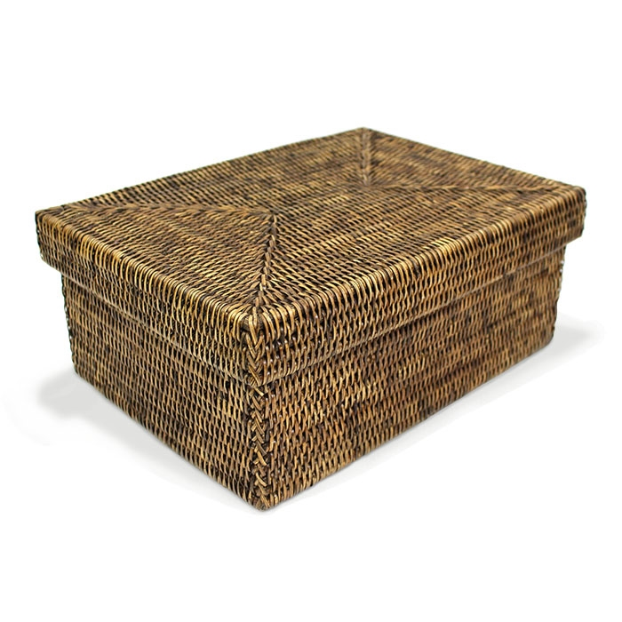 rattan basket small from storage box.htm rectangular storage basket with removable lid ab small  rectangular storage basket with
