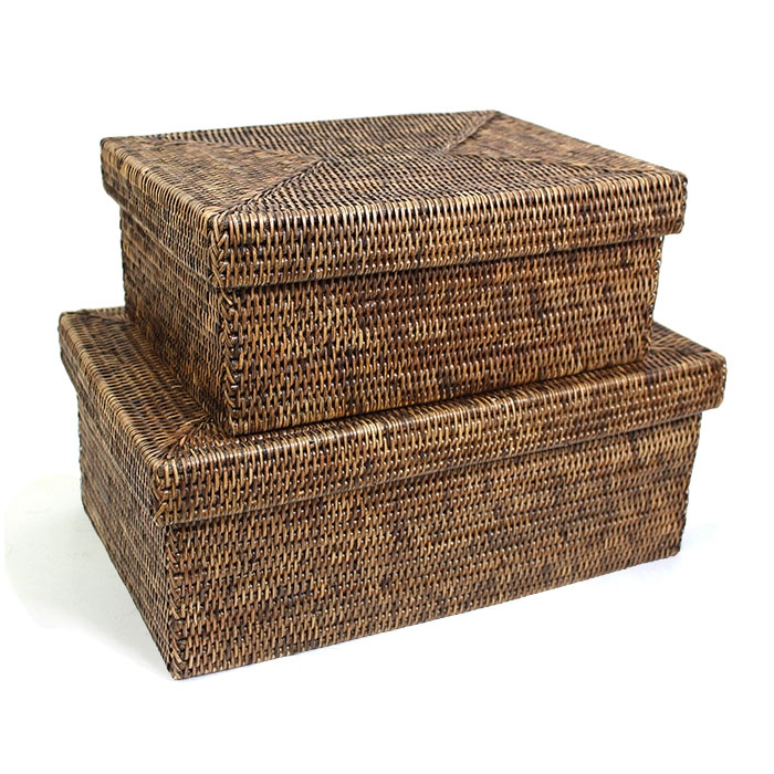 rattan basket small from storage box.htm rectangular storage basket with removable lid ab small 14x10x6   rectangular storage basket with
