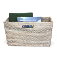 "Slim  Magazine Basket  - WW 16x5x10"".."