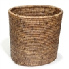 Oval Waste Basket - AB 11x8x11'H