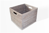 "Letter File Basket - WW 13.5x12.5x10.5""H.."
