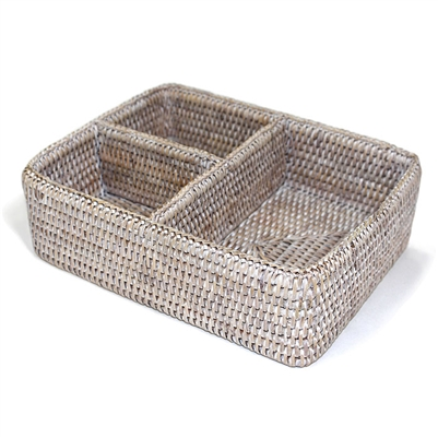 "3-section Tray - WW 10x8x3""H.."