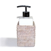 "Square Soap Dispenser Pump - WW 3x4""H.."