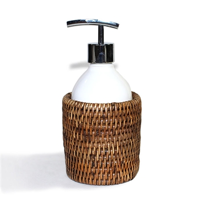 "Round Soap Dispenser Pump - AB 3.5x4""H.."