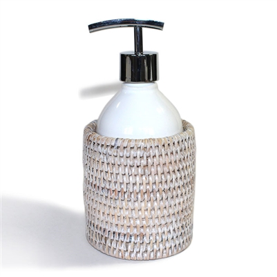 "Round Soap Dispenser Pump  - WW 3.5x4""H.."