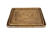 S/2 Rectangular Trays - AB 18x13.5/16x12""