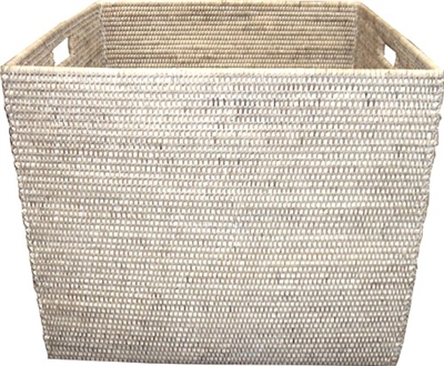 "Square Laundry Basket - WW 20.5x17.5""H .."