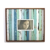 "Frame RW (4x6) Full Aqua Blue Stripe 14x12"" .."